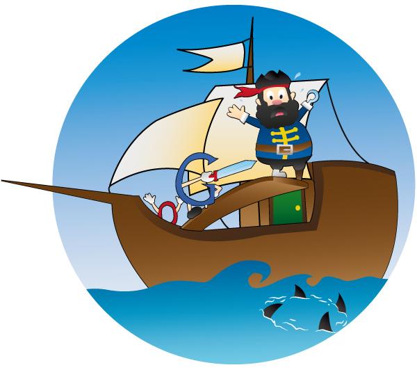 Schluss  mit Piraterie-Seiten: Pirate-Update