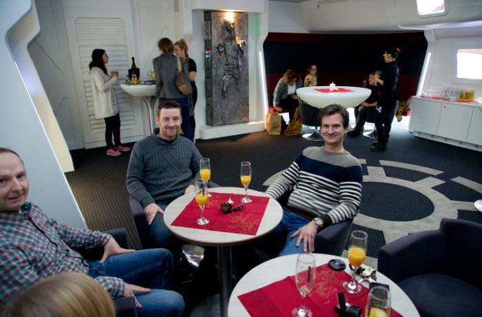 Weihnachtsfeier tma pure im Star Wars Kino Bensheim