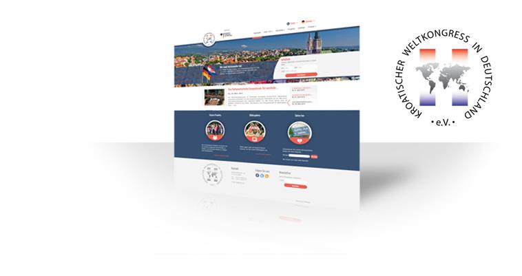 Ein neues Design für den Kroatischen Weltkongress