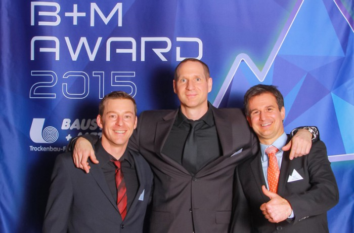 tma pure Team beim B+M  Award