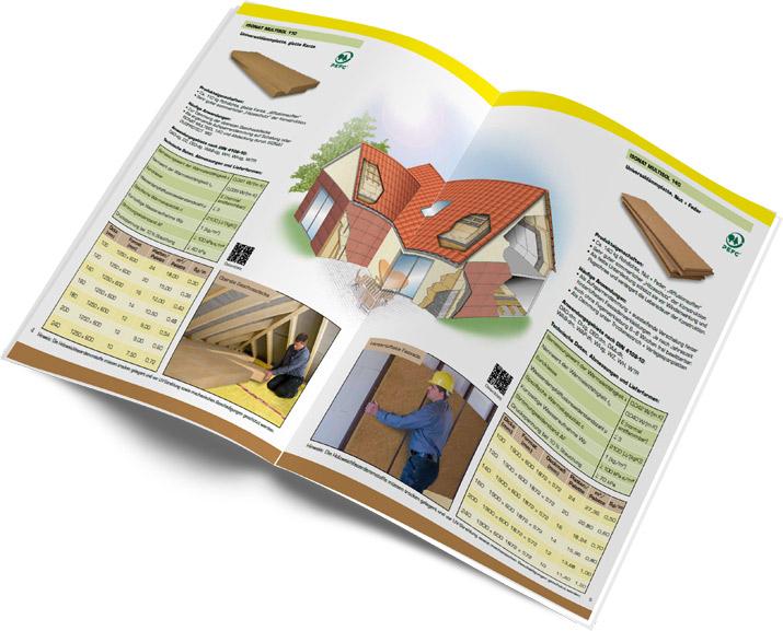 Broschüre Holzweichfaser