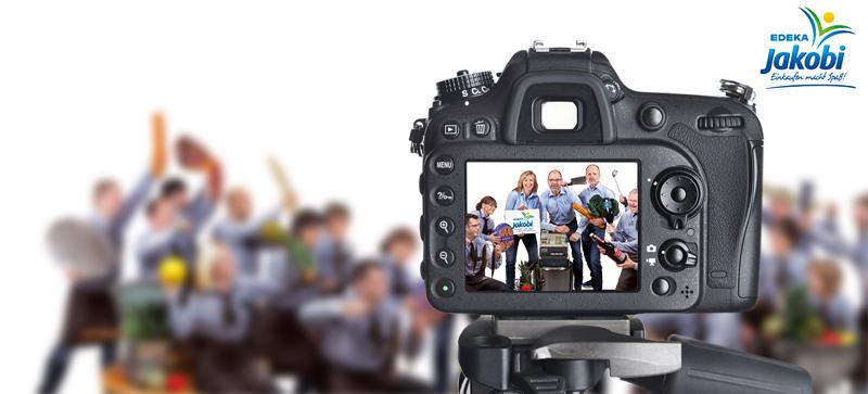 Alle für einen: Das Making-of zum EDEKA Jakobi Gruppenbild