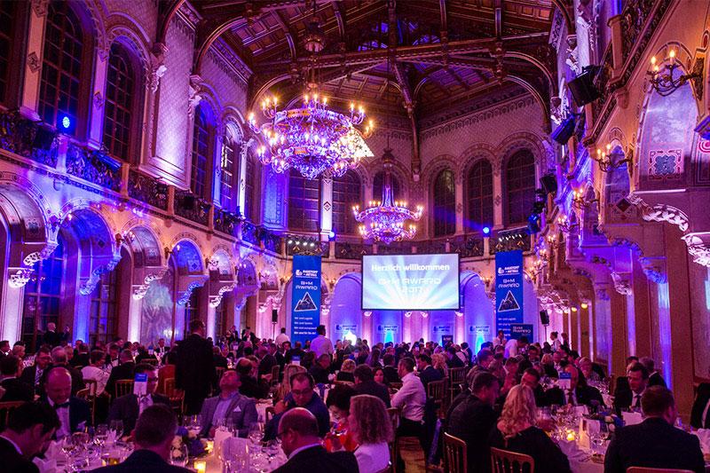 Erfolgreicher B+M AWARD in Wien – Eventplanung à la tma pure