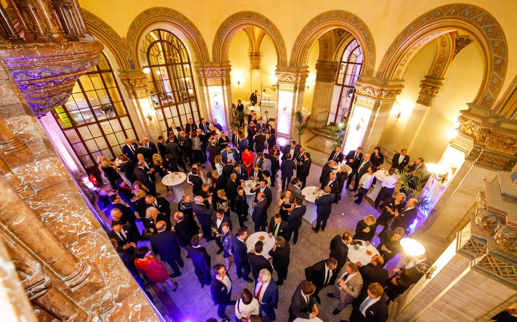 B+M AWARD 2017 in Palais Ferstel, Wien