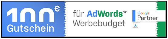 Gutschein AdWords Budget