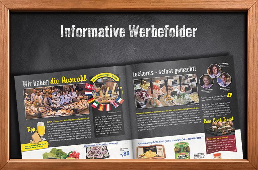 Informative Werbefolder
