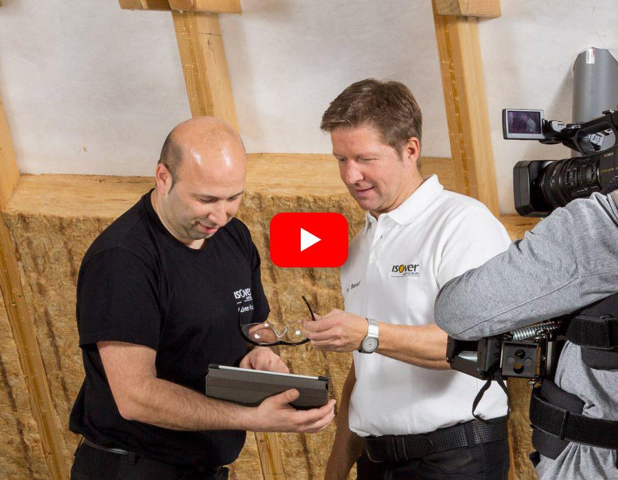 ISOVER live – Web-TV für Handwerker