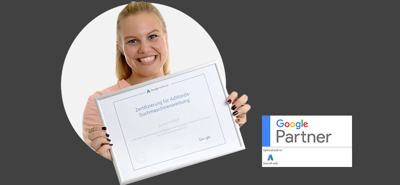 Julia Führer: Neuer Google Partner