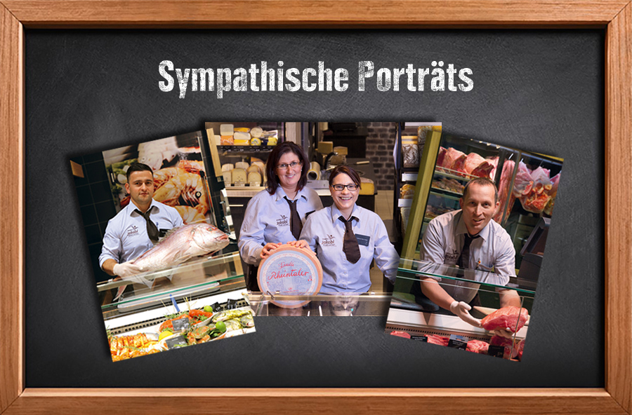 Sympathische Porträts