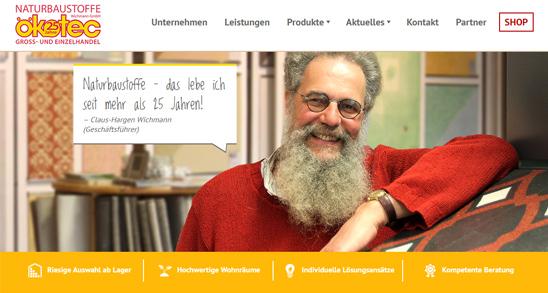 Neue Website – Ökotec Wichmann