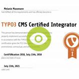 TYPO3 Zertifizierung